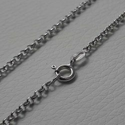 Picture of Cable Rolo Chain Silver 925 cm 70 (27,6 in) Unisex Woman Man