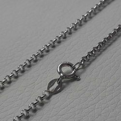 Picture of Cable Rolo Chain Silver 925 cm 80 (31,5 in) Unisex Woman Man
