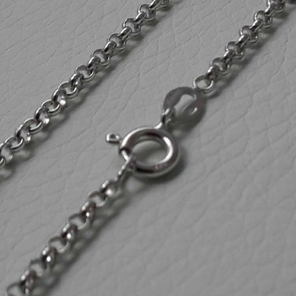 Picture of Cable Rolo Chain Silver 925 cm 90 (35,8 in) Unisex Woman Man