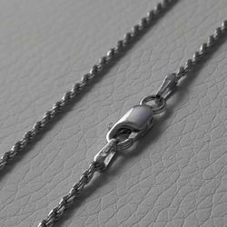 Picture of Rope Chain Silver 925 cm 50 (19,7 in) Unisex Woman Man