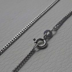 Picture of Curb Chain Silver 925 cm 50 (19,7 in) Unisex Woman Man
