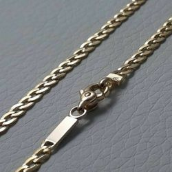 Picture of Curb Chain Yellow Gold 18 kt cm 60 (23,60 in) Unisex Woman Man