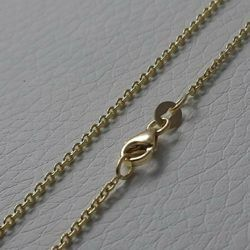 Picture of Cable Rolo Chain Yellow Gold 18 kt cm 50 (19,7 in) Unisex Woman Man