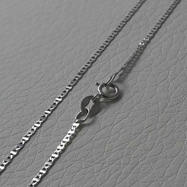 Picture of Enchor Chain White Gold 18 kt cm 50 (19,7 in) Unisex Woman Man