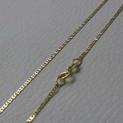 Picture of Enchor Chain Necklace Yellow Gold 18 kt cm 40 (15,7 in) Unisex Woman Man Boy Girl