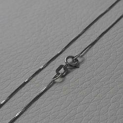 Imagen de Cadena Collar Malla Veneciana Oro blanco 18 kt cm 50 (19,7 in) Unisex Mujer Hombre