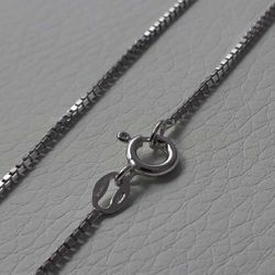 Picture of Box Chain Silver 925 cm 50 (19,7 in) Unisex Woman Man