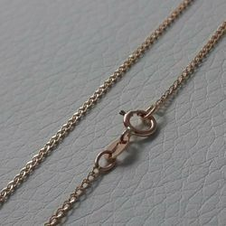 Picture of Wheat Chain Rose Gold 18 kt cm 50 (19,7 in) Unisex Woman Man
