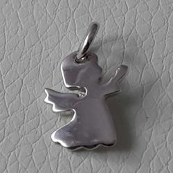Picture of Guardian Angel praying Pendant gr 1,9 White Gold 18k for Children (Boys and Girls)