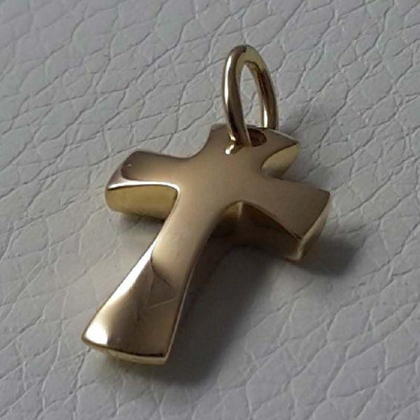 Immagine di Croce di Gerusalemme Ciondolo Pendente gr 2,4 Oro giallo massiccio 18kt Unisex Donna Uomo