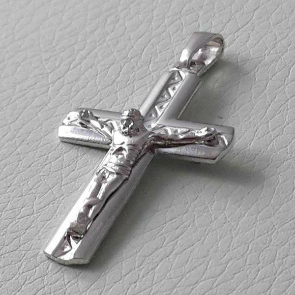 Imagen de Crucifijo Plata de ley 925 gr.4,50 Unisex Mujer Hombre