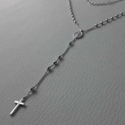 Picture of Necklace Silver 925 Our Lady of Graces Cross gr.5,10 for Woman
