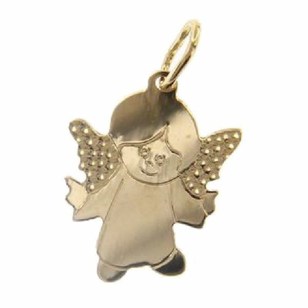 Picture of Guardian Angel Pendant gr 1,05 Yellow Gold 18k for Children (Boys and Girls)