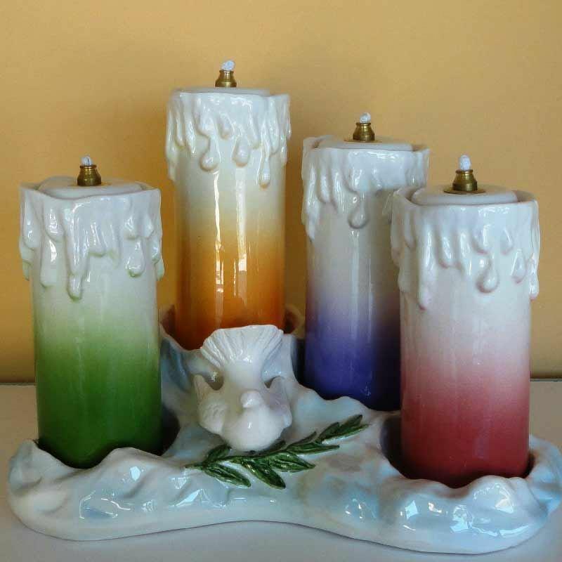 Liquid Wax Votive Lantern Cm 19x27 7 5x10 6 In