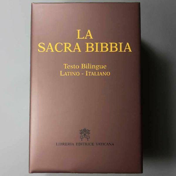 Immagine di La Sacra Bibbia - Testo bilingue (Italiano Latino)