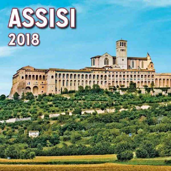 Calendario Panorama.Calendario Magnetico 2018 Assisi Panorama Cm 8x8
