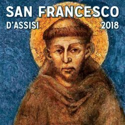 Imagen de Calendario magnetico 2018 S. Francesco d' Assisi cm 8x8