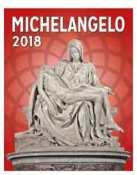 Picture of Calendario da tavolo e da muro 2018 Michelangelo cm 16,5x21