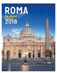 Picture of Calendario da tavolo e da muro 2018 San Pietro Notte cm 16,5x21