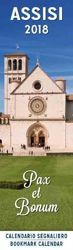 Picture of Assisi Basilica 2018 bookmark calendar cm 6x20 (2,4x7,9 in)
