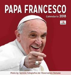 Imagen de Papst Franziskus (1) Wand-kalender 2017/2018 cm 31x33