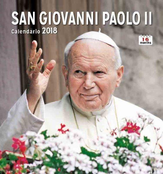 Picture of Calendario da muro 2017/2018 San Giovanni Paolo II cm 31x33