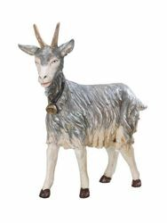 Picture of Standing Goat cm 125 (50 Inch) Fontanini Nativity Statue for Outdoor use, hand painted Resin