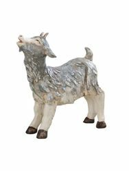 Picture of Standing little Goat cm 125 (50 Inch) Fontanini Nativity Statue for Outdoor use, hand painted Resin