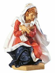 Picture of Mary cm 125 (50 Inch) Fontanini Nativity Statue for Outdoor use, hand painted Resin