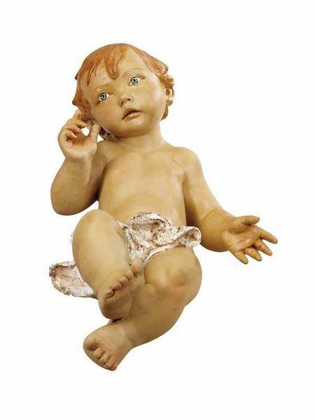 Immagine di Gesù Bambino cm 180 (70 Inch) Presepe Fontanini Statua per Esterno in Resina dipinta a mano