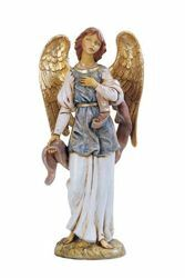 Picture of Standing Angel cm 52 (20 Inch) Fontanini Nativity Statue for Outdoor use, hand painted Resin