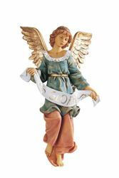 Picture of Glory Angel cm 52 (20 Inch) Fontanini Nativity Statue for Outdoor use, hand painted Resin