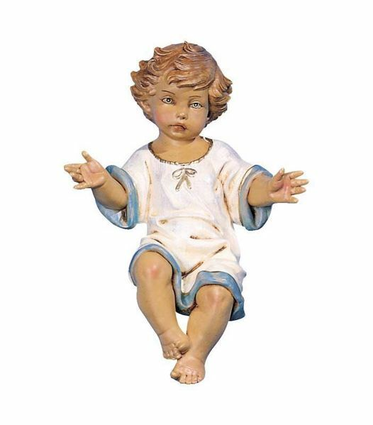 Picture of Baby Jesus cm 52 (20 Inch) Fontanini Nativity Statue for Outdoor use, hand painted Resin
