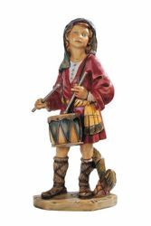 Picture of Shepherd with Drum cm 52 (20 Inch) Fontanini Nativity Statue for Outdoor use, hand painted Resin