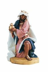 Picture of Wise King Balthazar Standing cm 52 (20 Inch) Fontanini Nativity Statue for Outdoor use, hand painted Resin