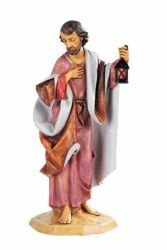 Picture of Saint Joseph cm 52 (20 Inch) Fontanini Nativity Statue for Outdoor use, hand painted Resin