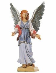 Picture of Standing Angel cm 65 (27 Inch) Fontanini Nativity Statue for Outdoor use, hand painted Resin