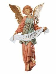 Picture of Glory Angel cm 65 (27 Inch) Fontanini Nativity Statue for Outdoor use, hand painted Resin