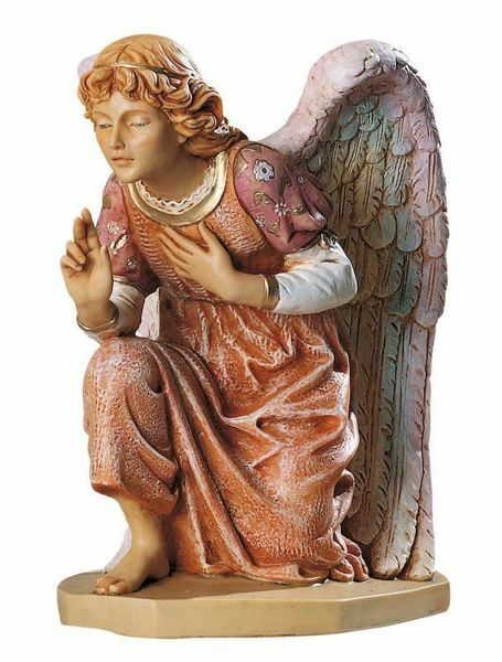 Picture of Angel cm 65 (27 Inch) Fontanini Nativity Statue for Outdoor use, hand painted Resin