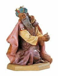 Picture of Wise King Caspar Standing cm 65 (27 Inch) Fontanini Nativity Statue for Outdoor use, hand painted Resin