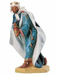 Picture of Wise King Balthazar Standing cm 65 (27 Inch) Fontanini Nativity Statue for Outdoor use, hand painted Resin