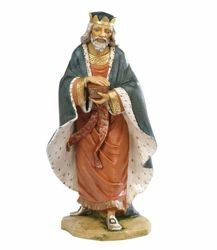 Picture of Wise King Melchior Standing cm 85 (34 Inch) Fontanini Nativity Statue for Outdoor use, hand painted Resin