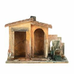 Picture of Watermill cm 12 (5 Inch) Fontanini Nativity Village handmade Wood