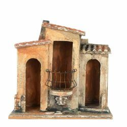 Picture of Village House cm 12 (5 Inch) Fontanini Nativity Village handmade Wood