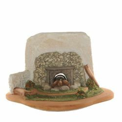 Picture of Fire with Light cm 12 (5 Inch) Fontanini Nativity Village handmade Resin