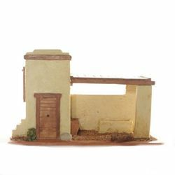 Picture of Stable cm 6,5 (2,5 Inch) Fontanini Nativity Village handmade Resin