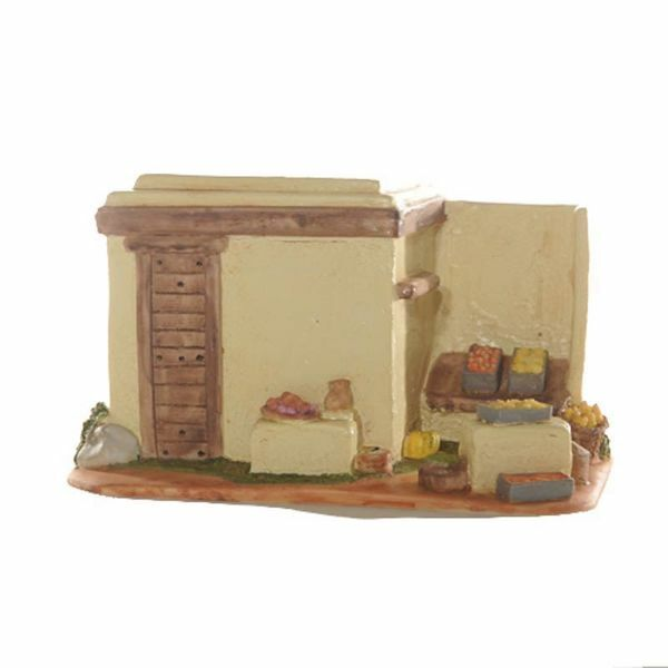 Picture of Fruit Shop cm 6,5 (2,5 Inch) Fontanini Nativity Village handmade Resin