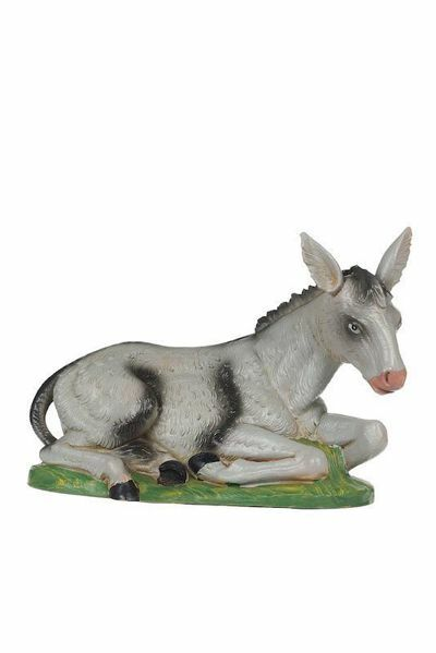 Picture of Donkey cm 30 (12 Inch) CLASSIC Fontanini Nativity Statue Traditional Colors Plastic