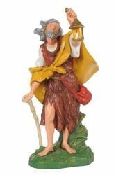 Picture of Shepherd with Lantern cm 30 (12 Inch) CLASSIC Fontanini Nativity Statue Traditional Colors Plastic