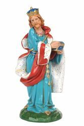Picture of Wise King Melchior Standing cm 30 (12 Inch) CLASSIC Fontanini Nativity Statue Traditional Colors Plastic